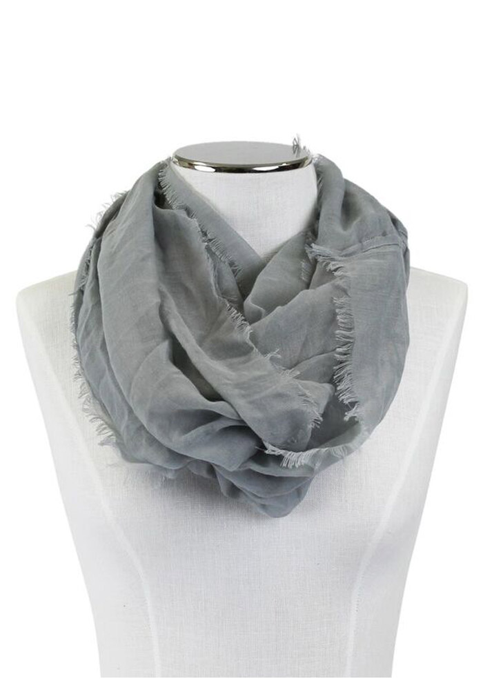 Team Color Solid Infinity Womens Scarf - Image 1