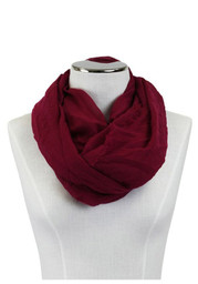 Team Color Solid Infinity Womens Scarf