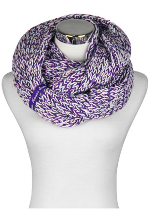 K-State Wildcats Chunky Knit Womens Scarf