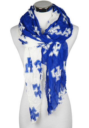 Kentucky Wildcats Split Logo Womens Scarf