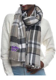 K-State Wildcats Womens Tratan Blanket Scarf - Purple
