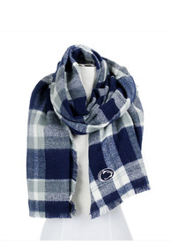 Penn State Nittany Lions Womens Tratan Blanket Scarf - Navy Blue