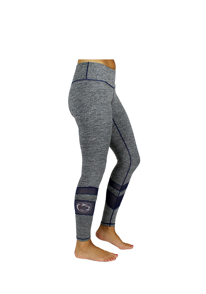 Penn State Nittany Lions Womens Grey Color Mesh Pants - Image 1
