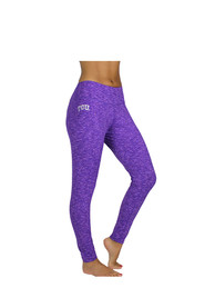 TCU Horned Frogs Womens Space Dye Pants - Purple