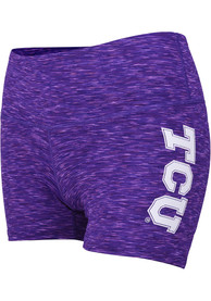 TCU Horned Frogs Womens Touchdown Shorts - Purple
