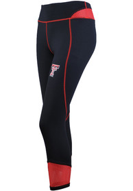Texas Tech Red Raiders Womens Tackle Ankle Biter Pants - Black