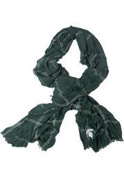 Michigan State Spartans Grid Iron Womens Scarf