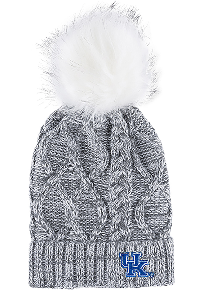 Kentucky Wildcats Grey Marled Womens Knit Hat - Image 1