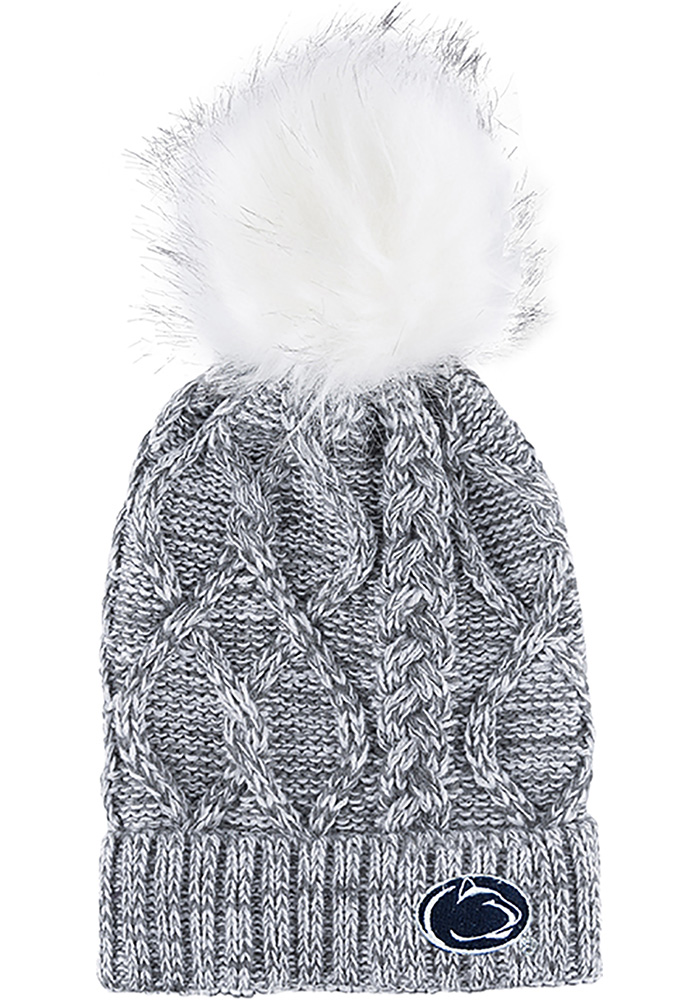 Penn State Nittany Lions Grey Marled Womens Knit Hat - Image 1
