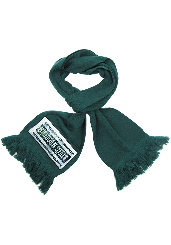 Michigan State Spartans Womens Inverse Scarf - Green