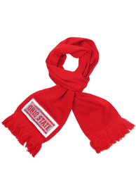 Ohio State Buckeyes Womens Inverse Scarf - Red