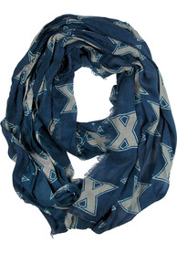 Xavier Musketeers Womens Logo Scarf - Navy Blue