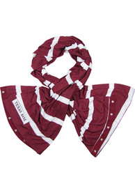 Texas A&M Aggies Womens Spirit Snap Scarf - Red