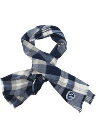 Sporting Kansas City Womens Blanket Scarf Scarf - Navy Blue