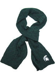 Michigan State Spartans Cable Scarf Womens Scarf
