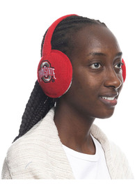Ohio State Buckeyes Womens Team Color Ear Muffs - Red