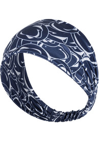Penn State Nittany Lions Womens Stacked Headband - Navy Blue