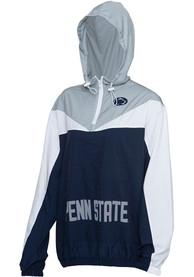 Penn State Nittany Lions Womens Energizer Light Weight Jacket - Navy Blue
