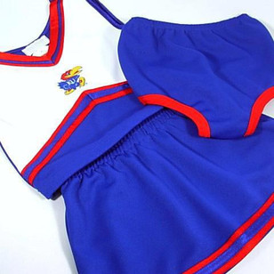 Kansas Jayhawks Girls Blue Hawk Cheer