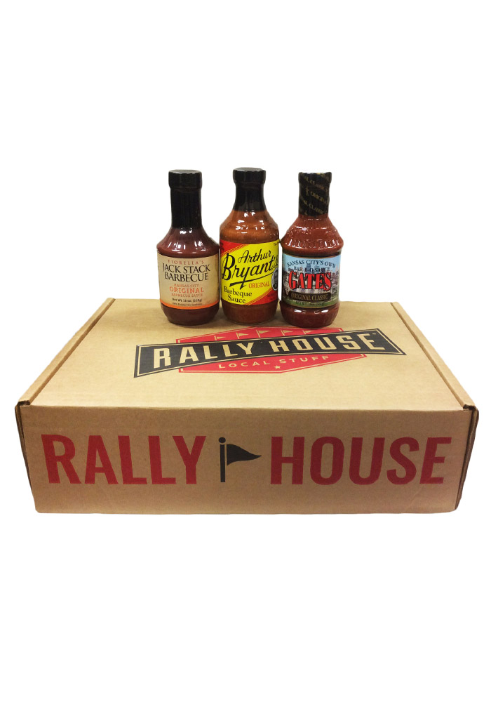 Rally House KC BBQ Sauce 3 Pack