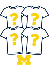 Michigan Wolverines Womens Surprise T-Shirt 4 Pack