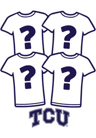 TCU Horned Frogs Womens Surprise T-Shirt 4 Pack