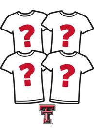 Texas Tech Red Raiders Womens Surprise T-Shirt 4 Pack