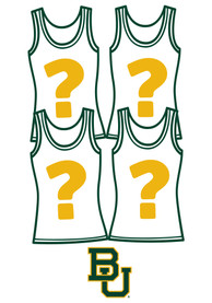 Baylor Bears Womens Surprise Tank Top 4 Pack