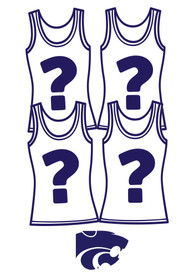 K-State Wildcats Womens Surprise Tank Top 4 Pack