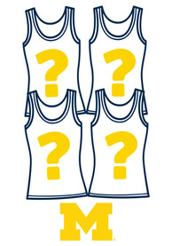 Michigan Wolverines Womens Surprise Tank Top 4 Pack