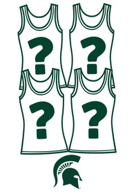 Michigan State Spartans Womens Surprise Tank Top 4 Pack