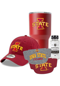 Iowa State Cyclones Back to School Gift Set Fan Mask - Red