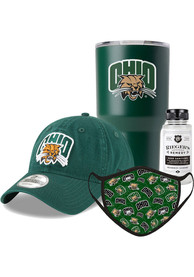 Ohio Bobcats Back to School Gift Set Fan Mask - Green