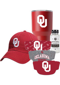 Oklahoma Sooners Back to School Gift Set Fan Mask - Red