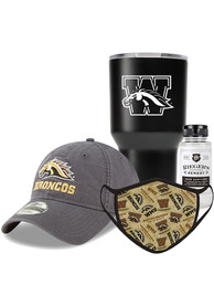Western Michigan Broncos Back to School Gift Set Fan Mask - Brown