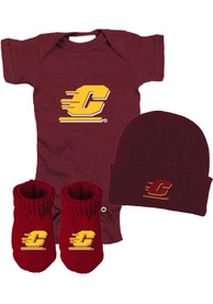 Central Michigan Chippewas Baby Gift Set