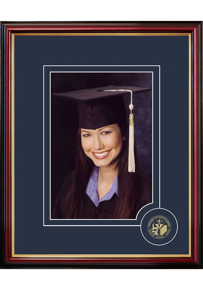 South Alabama Jaguars 5x7 Graduate Picture Frame - Image 1