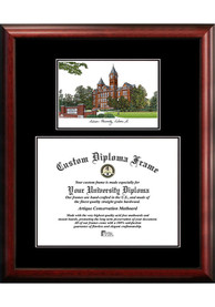 Auburn Tigers Diplomate and Campus Lithograph Picture Frame