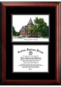 UAB Blazers Diplomate and Campus Lithograph Picture Frame