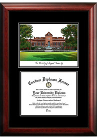Arizona Wildcats Diplomate and Campus Lithograph Picture Frame