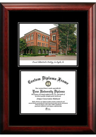 USC Trojans Diplomate and Campus Lithograph Picture Frame