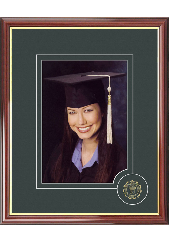 Colorado State Rams 5x7 Graduate Picture Frame - Image 1