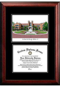 Florida State Seminoles Diplomate and Campus Lithograph Picture Frame