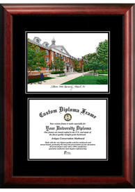 Illinois State Redbirds Diplomate and Campus Lithograph Picture Frame