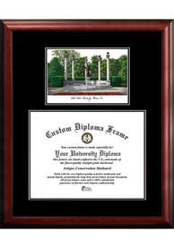 Ball State Cardinals Diplomate and Campus Lithograph Picture Frame