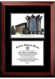Valparaiso Crusaders Diplomate and Campus Lithograph Picture Frame