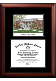 Murray State Racers Diplomate and Campus Lithograph Picture Frame