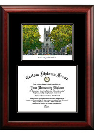 Boston College Eagles Diplomate and Campus Lithograph Picture Frame