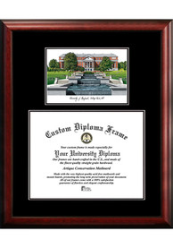 Maryland Terrapins Diplomate and Campus Lithograph Picture Frame