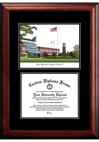 Grand Valley State Lakers Diplomate and Campus Lithograph Picture Frame